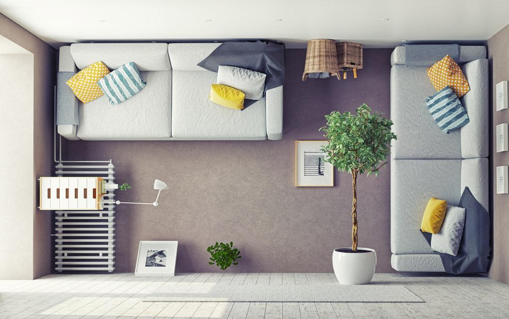 Midbec visning bostad hem wallpaper tapet homestyling homestaging Moblera furniture