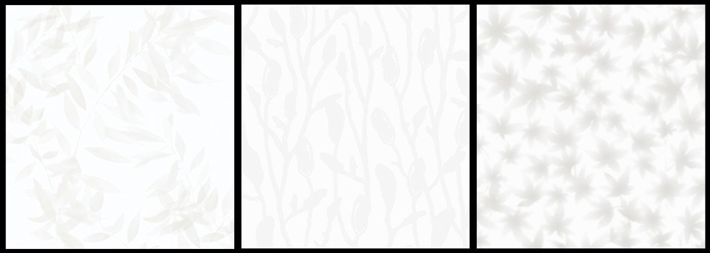 tapetinspiration i vitt blad midbec tapeter