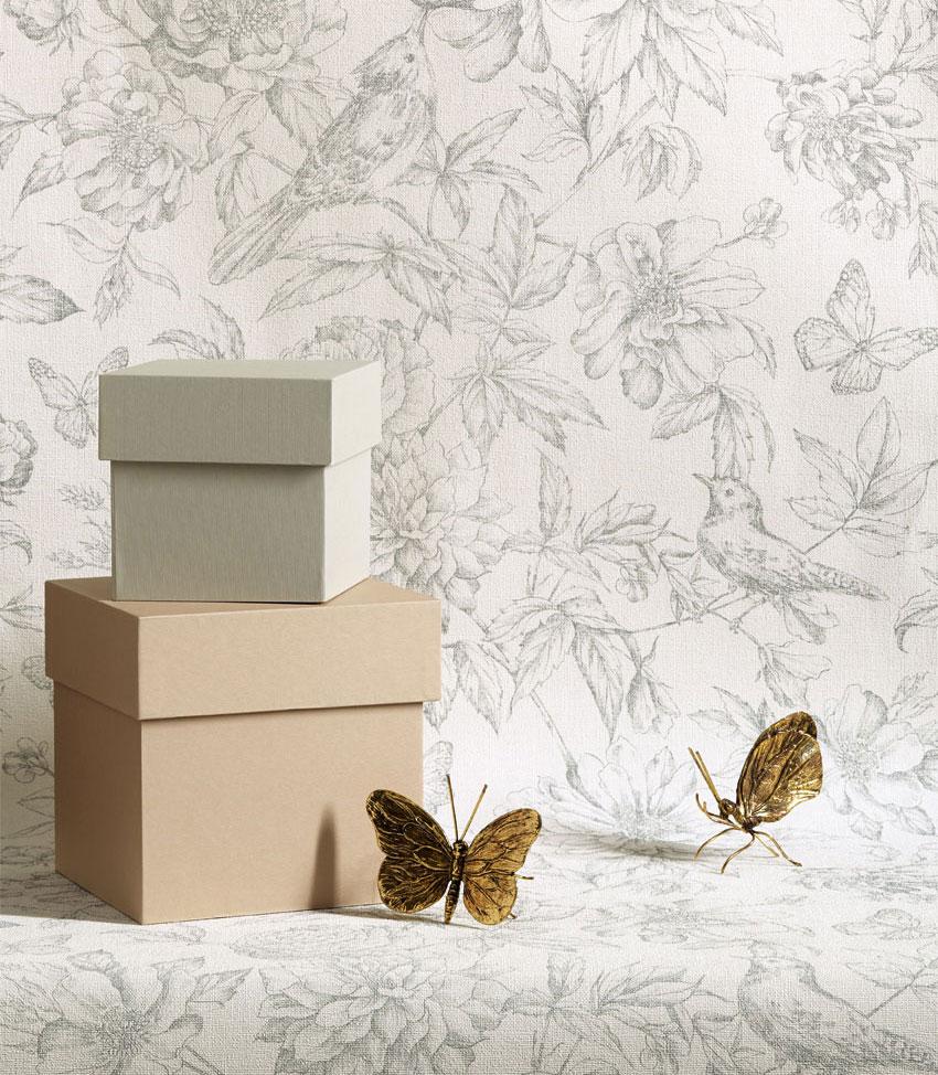Florens-fåglar-fjärilar-tapeter-midbec