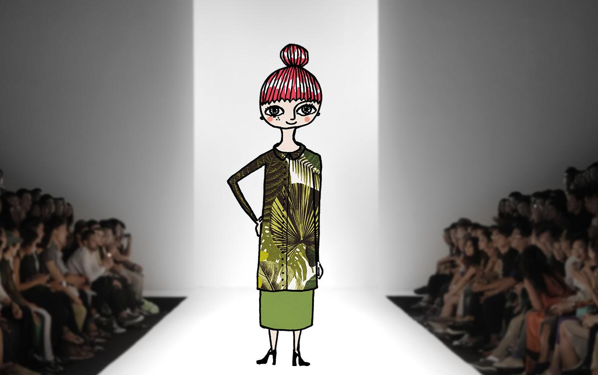 Midbec blogg spring collection wallpaper fashion runway varkollektion varmode 1