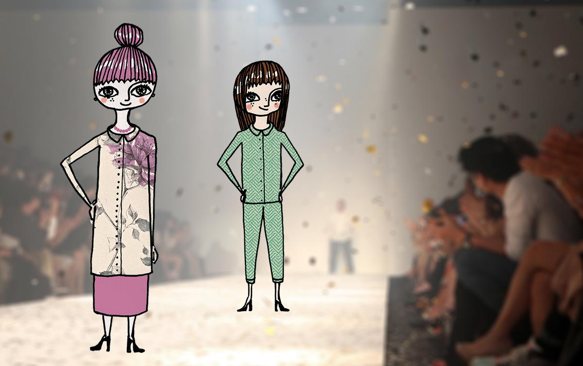 Midbec blogg spring collection wallpaper fashion runway varkollektion varmode 4