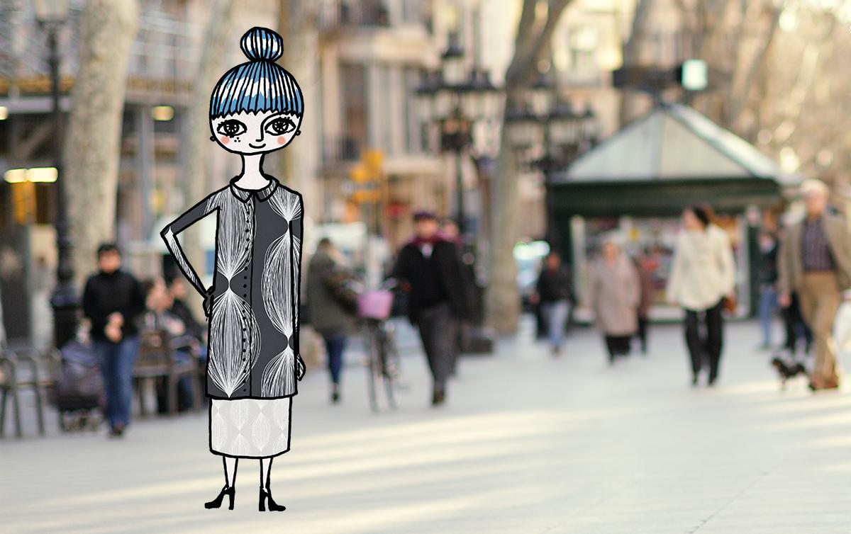 Midbec blogg spring collection wallpaper fashion runway varkollektion varmode 5