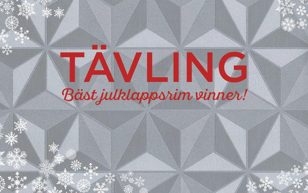 Midbec blogg advent tavling vinn tavla tapeter pris competition julklappsrim