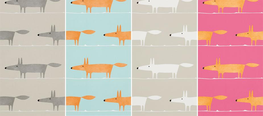 Rävar-mr-fox-tapeter-midbec-djur