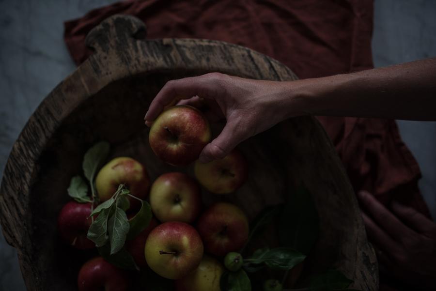 apelviken äpplen midbec tapeter