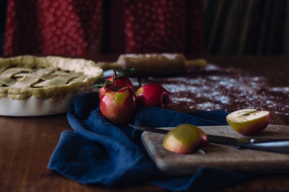 apelviken äpplen paj fotografering midbec tapeter