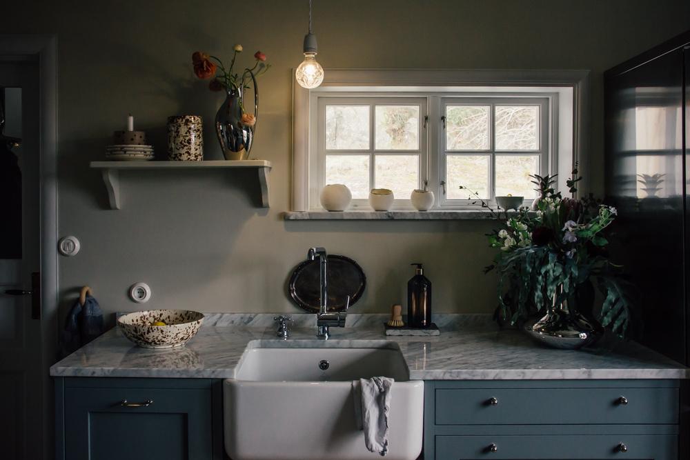 belysning som sätter stämningen kök midbec tapeter