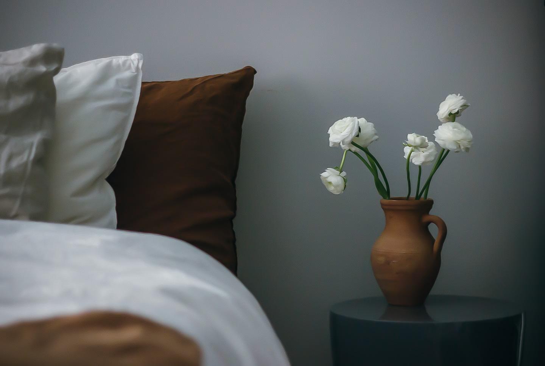 fotografering säng lyckebo midbec tapeter
