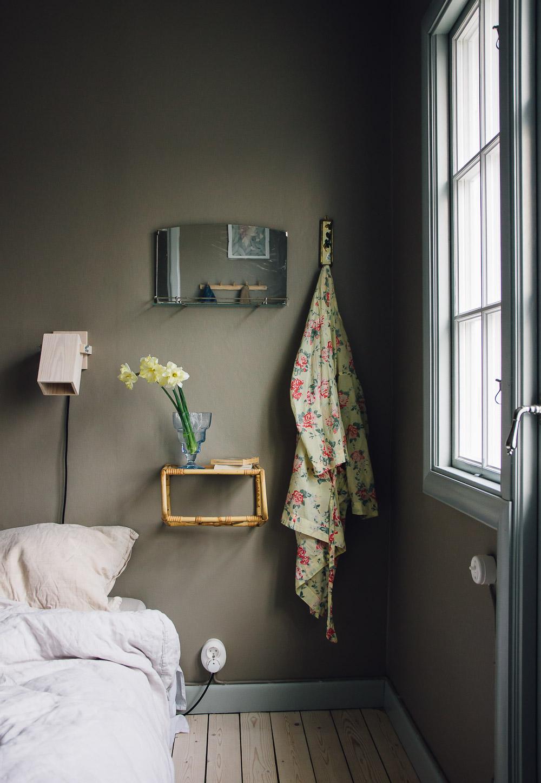 inreder personligt spegel sovrum midbec tapeter