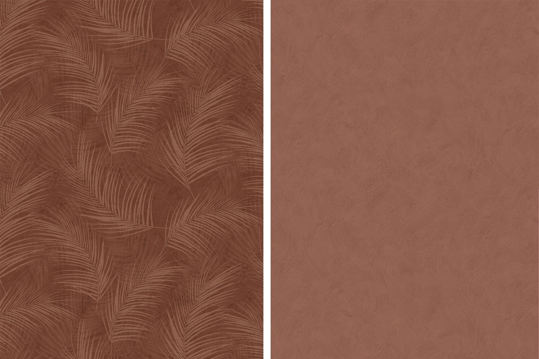 inredningstrender-2018-roströd-brunröd-midbec-tapeter