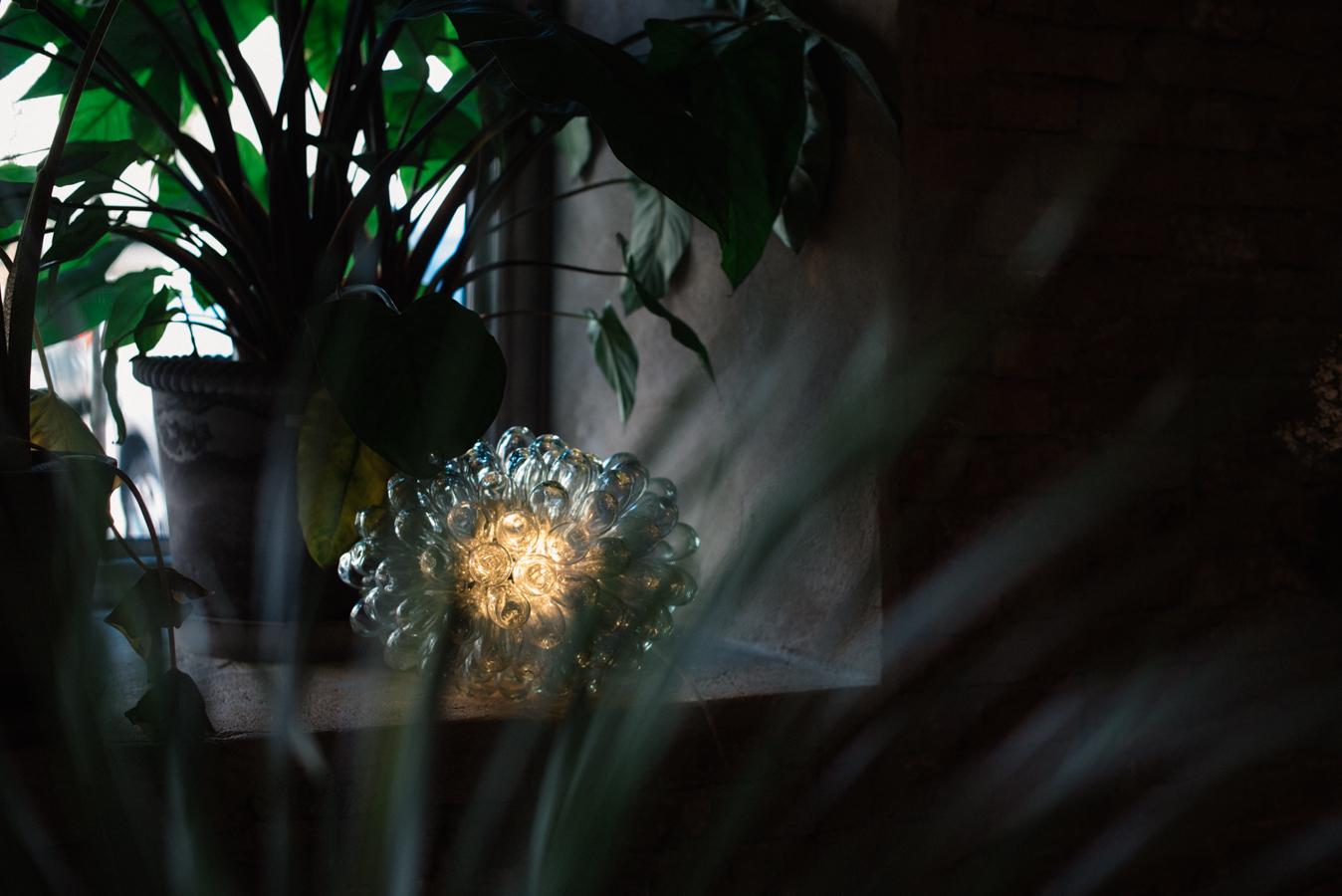 inspireras av belysning bordslampa glas midbec tapeter