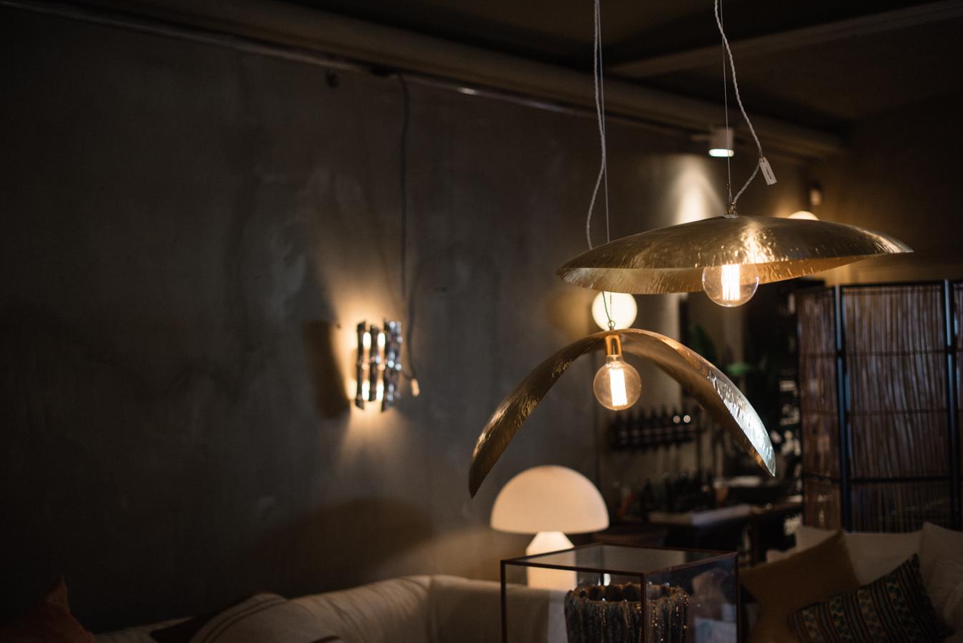 inspireras av belysning taklampa mässing midbec tapeter