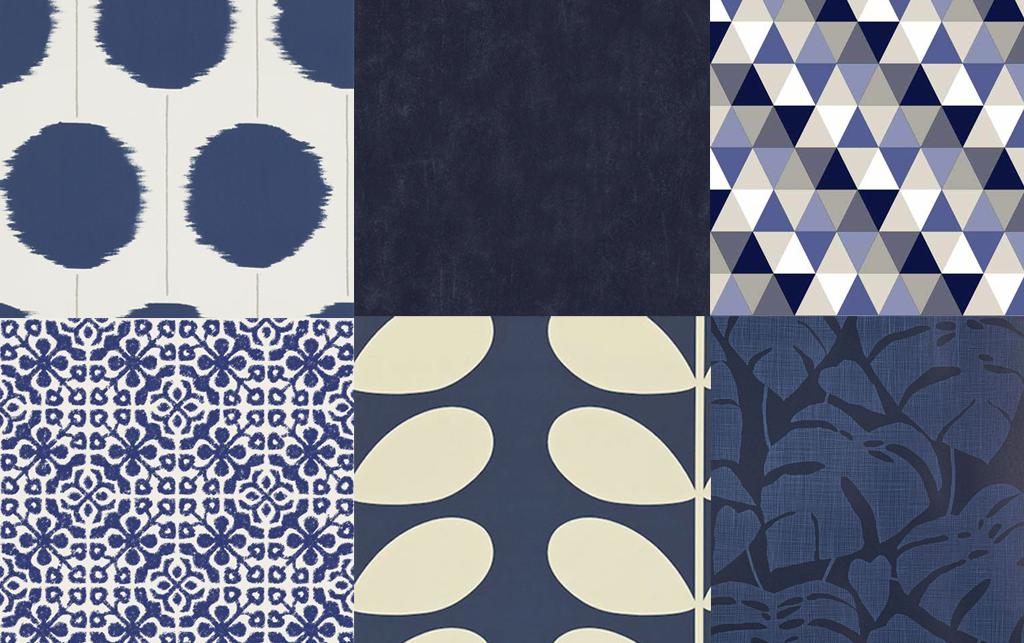 blatt blue midbec tapet wallpaper tapetsera trender trend vad vi vill se 2016