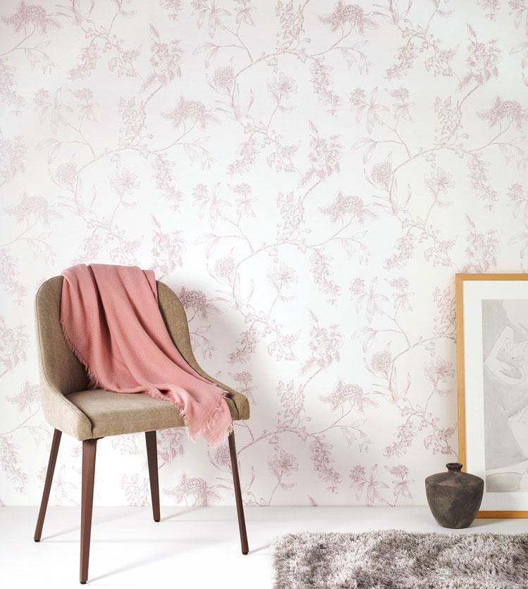 rosa-tapeter-blommor-midbec
